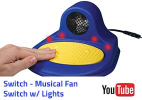 Switch - Musical Fan Switch w lights Video