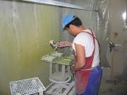 金属塗装・焼付塗装の岡田塗装所 最高の技術 吹付塗装