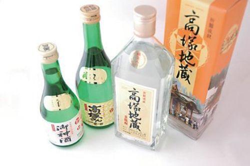 麦焼酎高塚地蔵(720ml)  / 1,300円