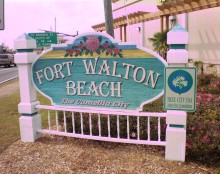 Welcome to Fort Walton Beach, Florida, the Camellia city.