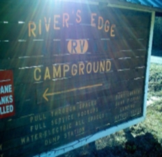 River's Edge RV Park in Holt, Florida.