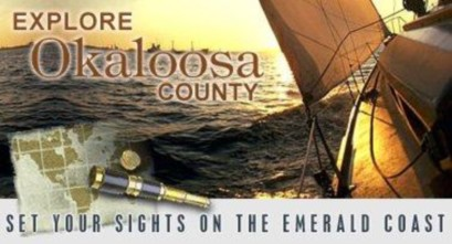 Welcome to Okaloosa County, Florida, where Destin, Fort Walton Beach, Niceville, and Crestview are located.
