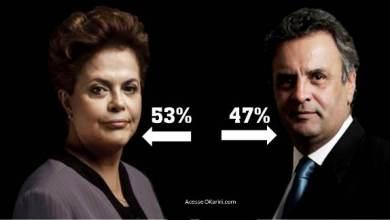 Foto de Eleições 2014: Dilma tem 53%, e Aécio, 47% dos votos válidos, aponta Ibope