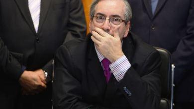 Foto de Eduardo Cunha é preso em Brasília