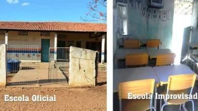 Foto de Milagres-CE: Alunos Tem Escola Fechada E Passam A Estudar Em Situação Inadequada