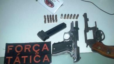 Foto de Policia: Em Mauriti, prisão por porte de arma, em Jati, cadáver é encontrado e identificado posteriormente