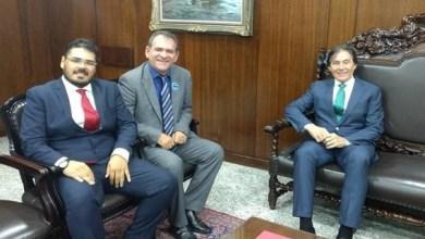 Photo of Mauriti-CE: Prefeito Mano Morais é recebido pelo Presidente do Senado, Eunício Oliveira