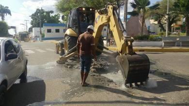 Photo of Milagres-CE: Problemas na rede de esgoto no centro da cidade estão sendo solucionados