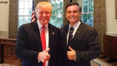 """Photo of """"Um grande cavalheiro…grande cavalheiro"""", diz Trump sobre o presidente Bolsonaro"""