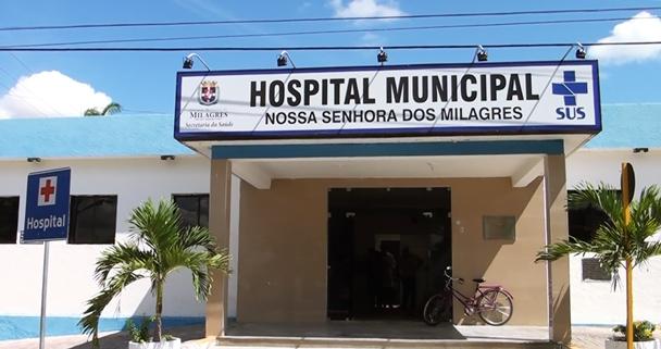 Fachada do Hospital de Nossa Senhora dos Milagres | Foto: OKariri