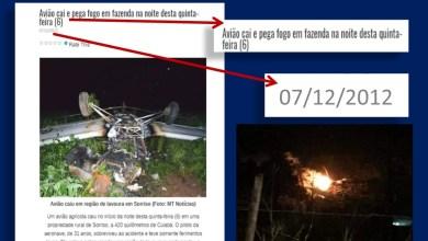 Foto de Abaiara (CE):  Avião supostamente cai na Serra da Mãozinha; como surgiu essa notícia?