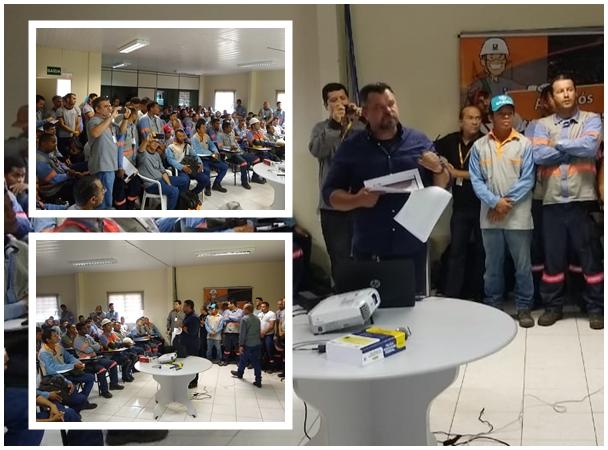 A palestra contou com a presença de funcionários e dirigentes das empresas   Foto: Divulgação