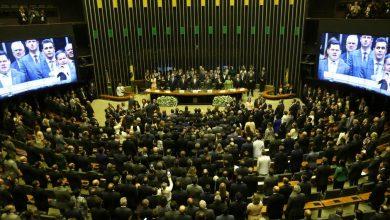 Sessão solene do Congresso Nacional de abertura dos trabalhos legislativos de 2019. Foto: Fabio Rodrigues Pozzebom