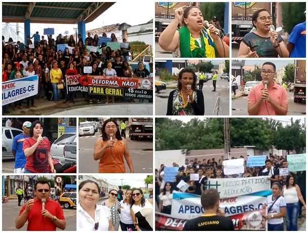 Os manifestantes se posicionaram, cada um ao seu modo, contra as ações do Presidente Bolsonaro  Imagens: Jucy Sá