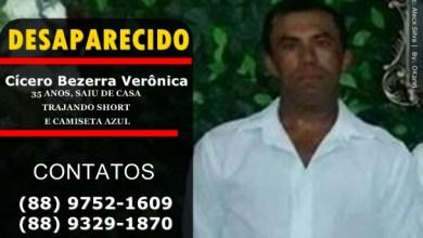 Foto de Milagres (CE): Família procura por rapaz de 35 anos, desaparecido desde terça-feira