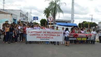 Protestos contra a Reforma da Previdência e cortes de verbas da educação
