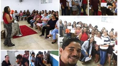 Capacitação para as Auxiliares de Nutrição em Abaiara   Imagens: Divulgação