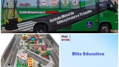 "Photo of DEMUTRAN de Milagres e DETRAN realizam ""Blitz Educativa"""