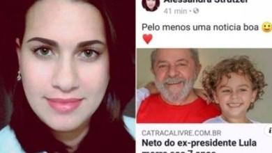 """Photo of """"R$50 mil"""": Blogueira que """"comemorou"""" morte de neto de Lula pede ajuda para indenização"""