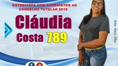 Photo of CLÁUDIA COSTA – Nº 789 | 6ª entrevista com candidatos para o Conselho Tutelar em Milagres – CE (2019).