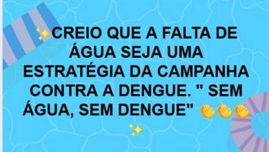 """Photo of Milagres-Ce: """"CAMPANHA… SEM ÁGUA, SEM DENGUE"""", Cagece vira meme por falta de água na internet"""
