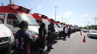 Photo of Novas ambulâncias entregues Hoje (29) ao Samu para serem distribuídas em 60 municípios do Estado do Ceará.
