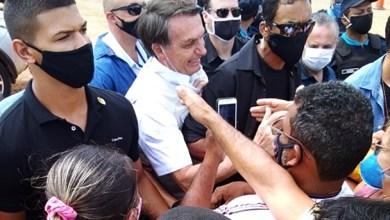 Foto de Penaforte-Ce: 11 dias antes dos sintomas de coronavírus, Bolsonaro esteve no Ceará em meio à aglomeração
