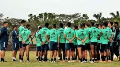 Foto de Flamengo revela 7º caso de coronavírus na delegação na véspera do jogo no Equador