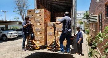 Foto de TRE-CE concluiu distribuição de urnas eletrônicas para zonas eleitorais do interior do estado