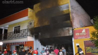 Foto de Milagres-Ce: incêndio que atingiu loja não é o primeiro e chama a atenção para necessidade de Bombeiros no Cariri leste