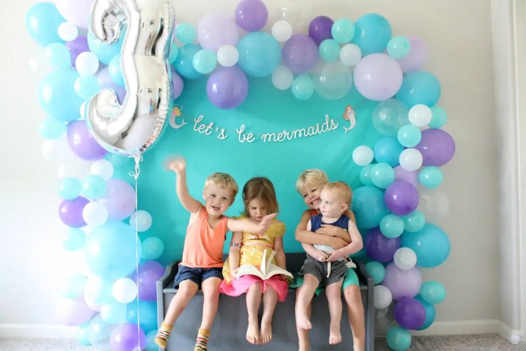 3rd Mermaid Birthday Party