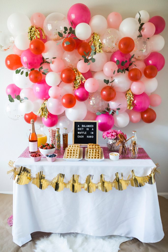 DIY Balloon Wall - Okayest Moms