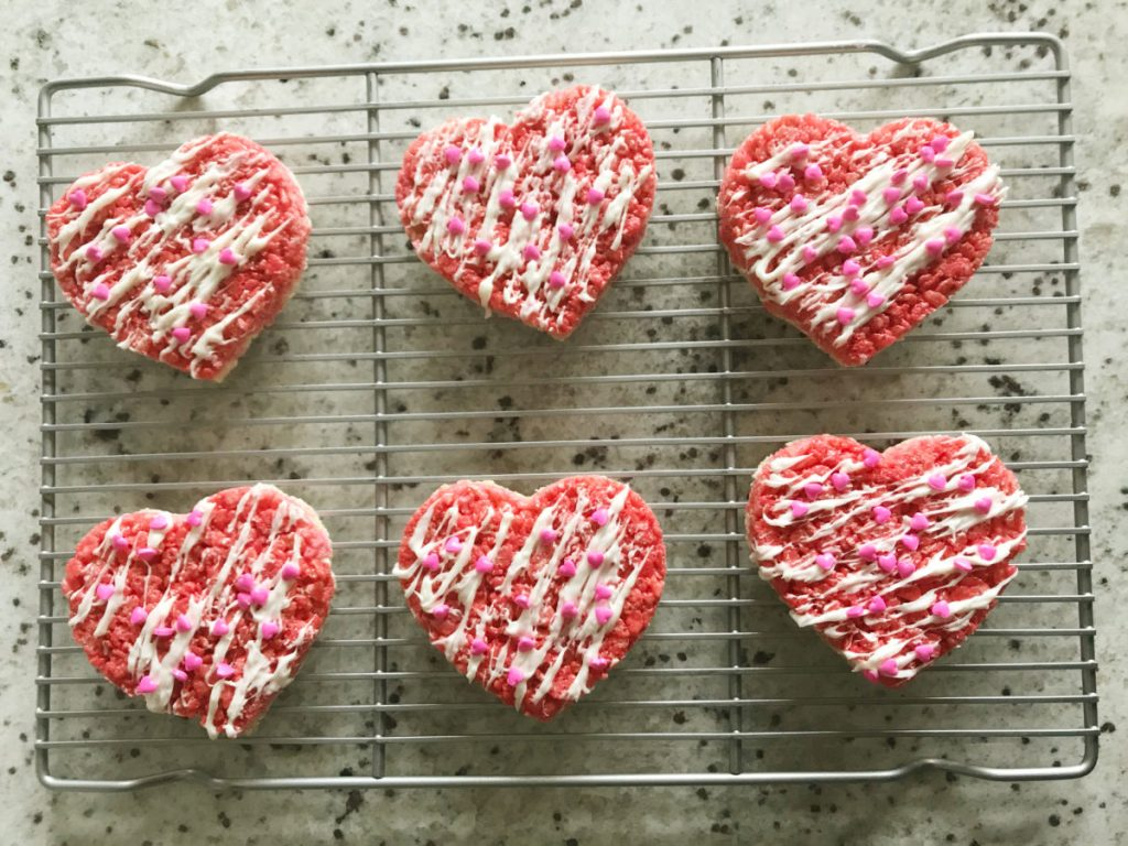 Valentine Rice Krispy Treats