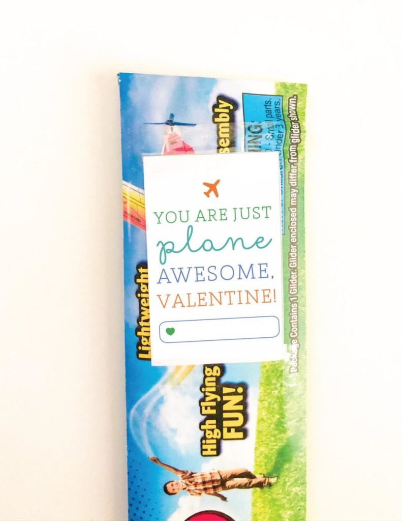You Are Just Plane Awesome Valentine Printable // www.okayestmoms.com