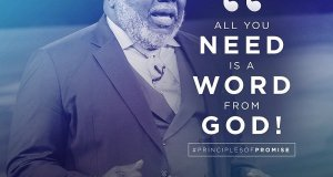 Download T D Jakes - ALL YOU NEED IS A WORD FROM GOD