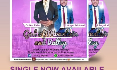 DOWNLOAD Chika Peter - God Of Mountain And Valley
