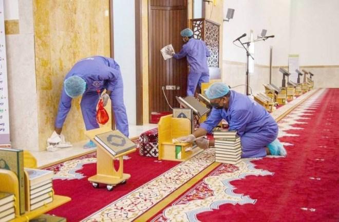 «الإسلامية» تعيد افتتاح 7 مساجد بعد تعقيمها بسبب إصابات بـ«كورونا» بين المصلين – أخبار السعودية
