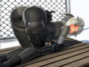 【Eliminatorカエデさん】日本一いかがわしいTPS!?最高にお尻がエッチな銀髪の女の子がゾンビとバトル!