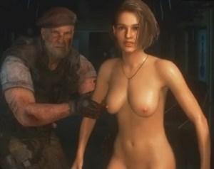 【バイオハザード RE:3】ジルが全裸でゾンビと戦う《本編イベントシーン》まとめ動画(ヌードMOD)