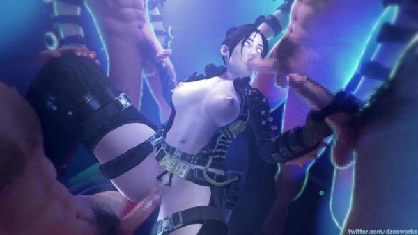 Apex Legends - ワットソンとレイスのエロアニメまとめ 3DCG 02