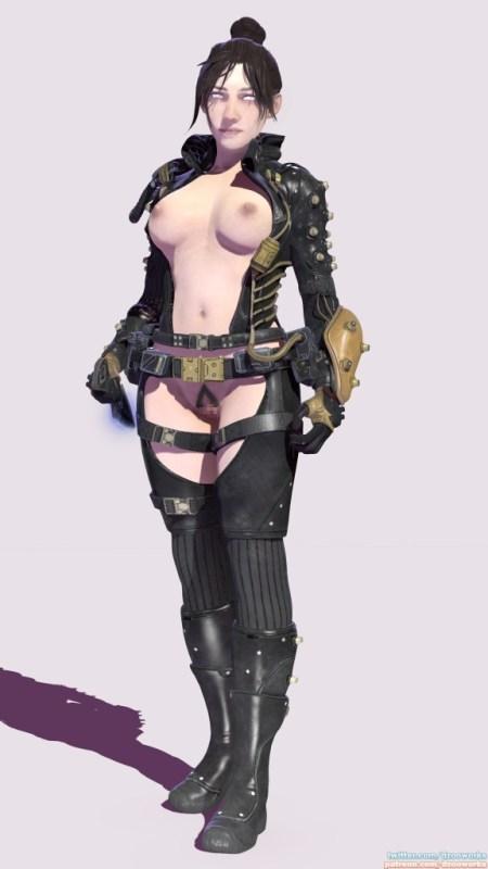 Apex Legends - ワットソンとレイスのエロアニメまとめ 3DCG 04
