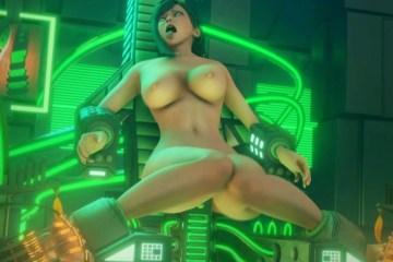 【FF7R】ティファさん、機械に拘束されて《対魔忍》ばりの悶絶アクメ!何度イっても攻められ続けて、とんでもないアヘ顔晒すwww