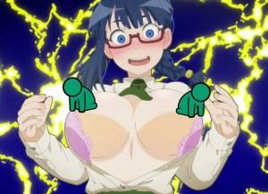 【土下座で頼んでみた 第4話】メガネな地味子はガチ巨乳!Yシャツもブラも弾け飛んでデカ乳丸見え!