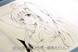 【朗報】矢吹健太朗先生、YouTubeでエッチな《To LOVEる -とらぶる-》の絵を描いてしまう!