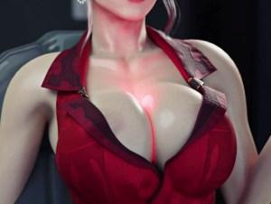 【FF7R】神羅の女幹部スカーレットさん、レアな召喚マテリアでチ○ポを呼び出してしまうwwwww