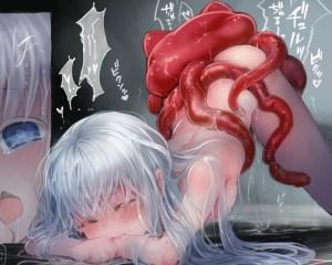 洋ロリさん、異形の怪物とセックスしてしまう・・・。『Connect-少女は触手と愛をつむぐ-』