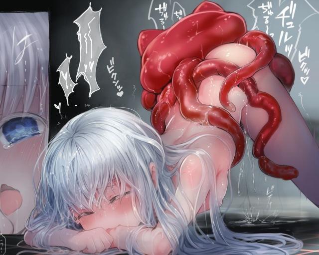 『Connect-少女は触手と愛をつむぐ-』洋ロリさん、異形の怪物とセックスしてしまう・・・。