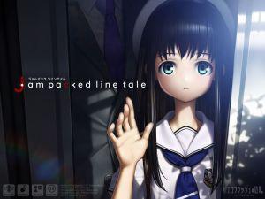 【マル秘】電車での痴漢テクニック教えます!ターゲットは大人しそうな〇学生少女・・・。『Jam packed line tale』