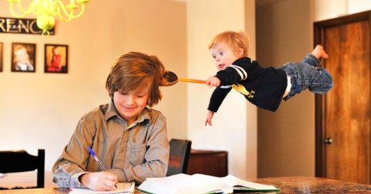 Padre hace VOLAR a su hijo para crear conciencia sobre el Síndrome de Down