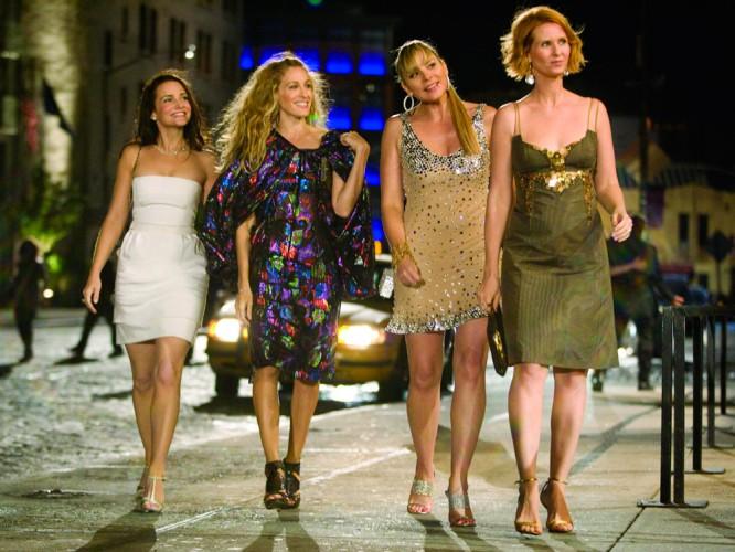 Chicas de la películas sex and the city